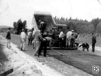 BR 376 Rodovia do Café - Imbaú - Década de 60