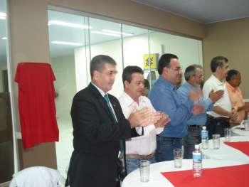 """Inauguração do Paço Municipal  """" Os Pioneiros """""""