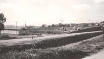 Vista da Capela São José, Av. Ivo Jangada e Rodovia  do Papel