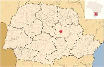 Localização Territorial do Município no Estado do Paraná