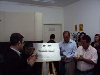 Inauguração da nova Unidade de Saúde