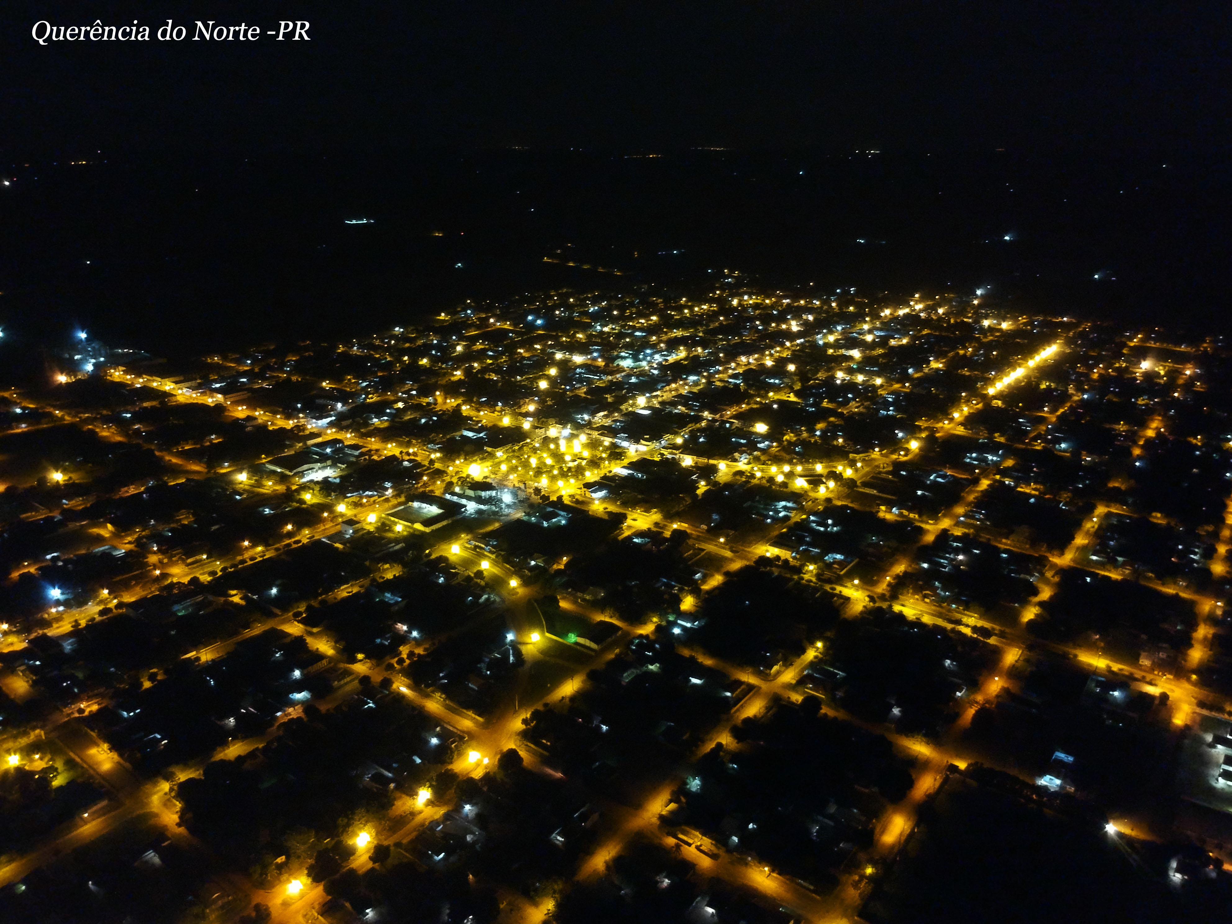 Querência do norte visão noturna