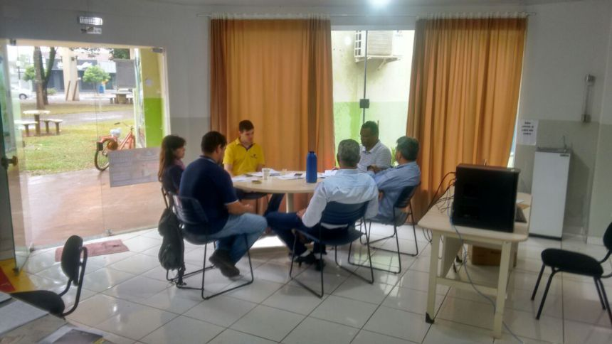 SECRETARIA MUNICIPAL DO DESENVOLVIMENTO ECONÔMICO REALIZA OFICINA COM O TEMA:LIBERAÇÃO DE OUTORGA PARA ÁREAS DE ARROZ IRRIGADO