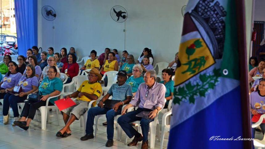 PREFEITURA DE QUERÊNCIA DO NORTE REALIZA V CONFERÊNCIA MUNICIPAL DA PESSOA IDOSA