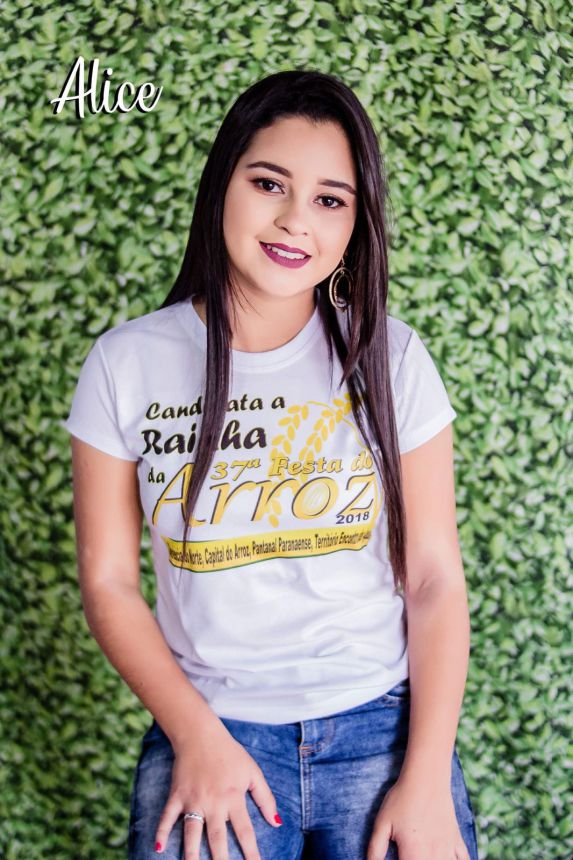 CANDIDATAS A RAINHA DA 37ª FESTA DO ARROZ 2018