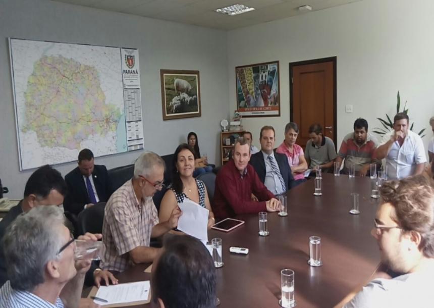 Nosso município no programa de microbacia da secretaria de estado da agricultura.