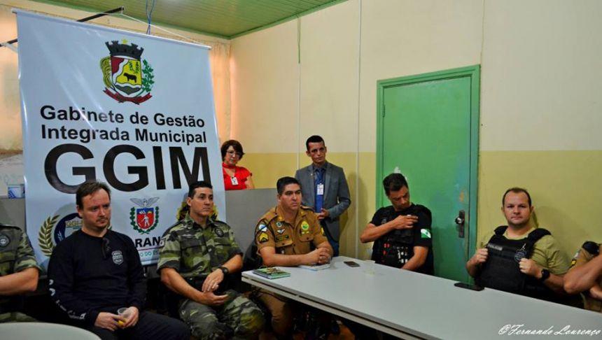 GABINETE DE GESTÃO INTEGRADA REALIZA A 5ª REUNIÃO ORDINÁRIA ACERCA DE DEMANDAS SOBRE SEGURANÇA NA REGIÃO