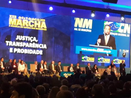 PREFEITA DRA ROZE PARTICIPA DA XXII MARCHA A BRASÍLIA EM DEFESA DOS MUNICÍPIOS