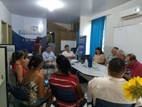 REUNIÃO DO COMITÊ GESTOR  DO PROGRAMA CIDADE EMPREENDEDORA