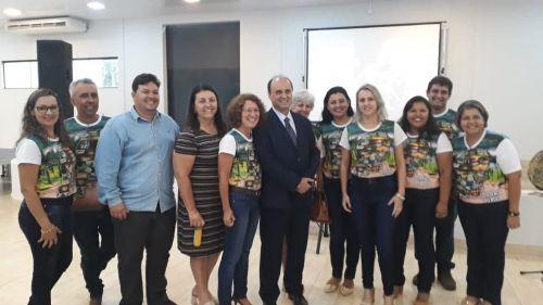 Evento na Expo Paranavaí - 1º contato com o Secretario de Turismo do Paraná Marcio Nunes, presença do COMTUR
