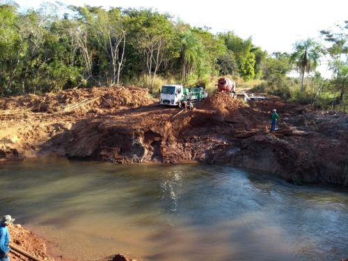 CONSTRUÇÃO DA PONTE SOBRE O RIO PATRÃO