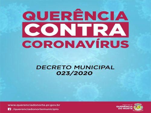 Querência contra Corona Virus