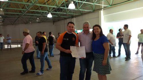 Município de Querência do Norte recebe Kit Esportivo para o Coordenação de Esporte Municipal e APAE