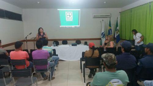 Palestra de Educação no Trânsito, promovido pela Escola de Trânsito DER - Departamento de Estradas e Rodagens de Maringá em parceria com a Secretaria Municipal de Educação e Prefeitura Municipal