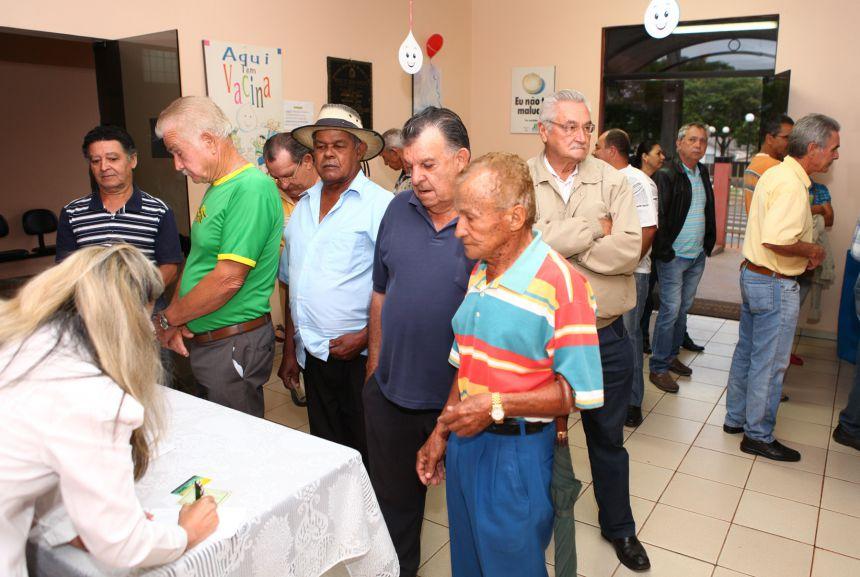 Campanha Municipal Saúde do Homem.