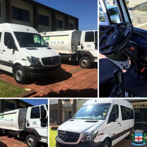 Caminhão Coletor e Veículo para Saúde
