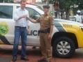 Solenidade de Entrega de Um Veículo Modelo Amarok Para Policia Militar, Viabilizada Junto ao Governo Estadual do Paraná.