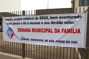 Semana Municipal da Familia