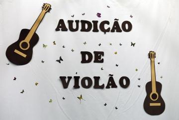 Audição de Violão