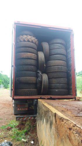 São Jorge do Ivaí faz convênio para destinação de pneus inservíveis