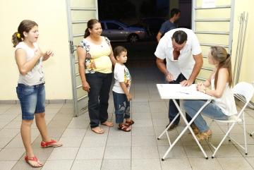 Sorteio de Casas Populares.