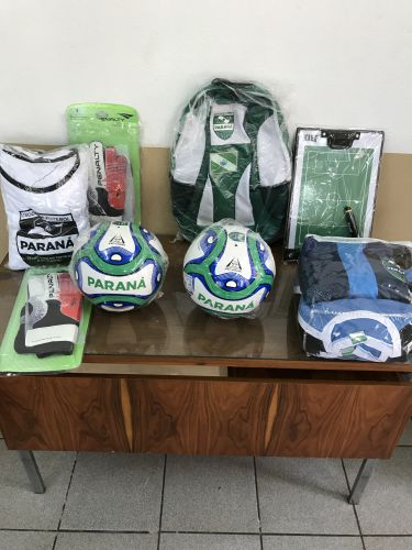 Kit de Materiais Esportivos