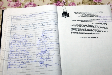 Audiência Pública, Referente à Discussão e Elaboração do Projeto de Lei de Diretrizes Orçamentárias para 2015.