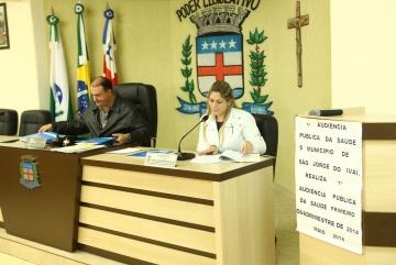 1ª Audiência Pública da Saúde (Primeiro Quadrimestre de 2014).