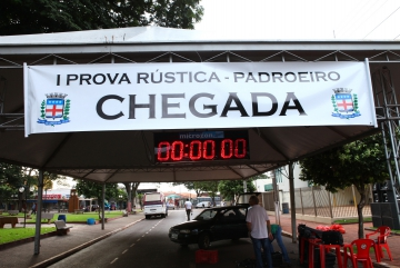 1° Prova Rústica Padroeiro 2015.