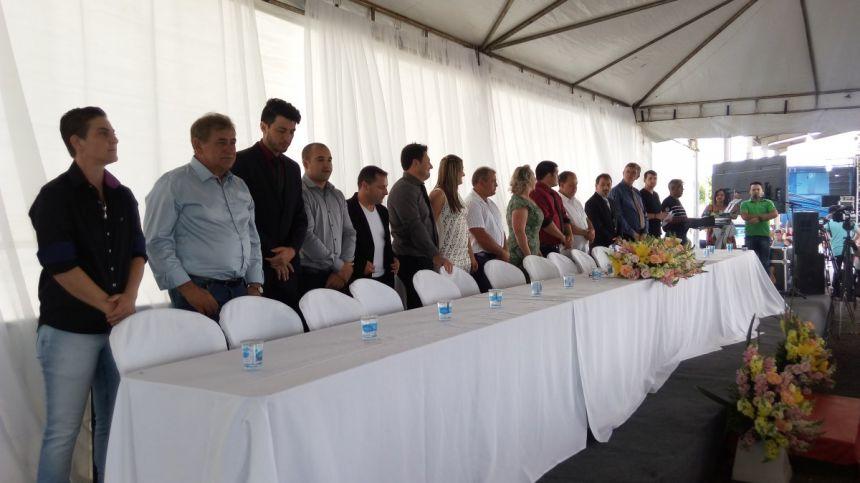 Cleonice Toma Posse como Prefeita de Fernandes Pinheiro
