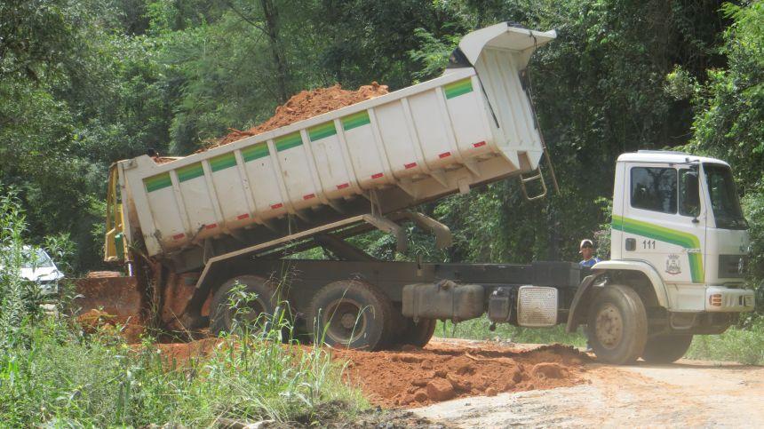 Conservação e obras nas estradas rurais