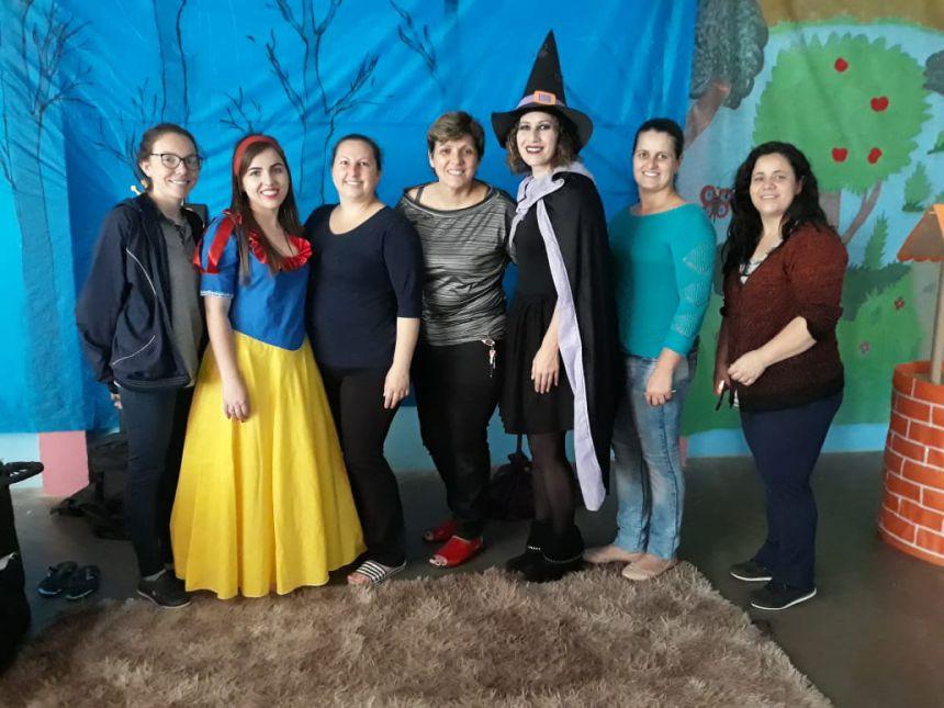 CMEI faz atividade cultural com alunos