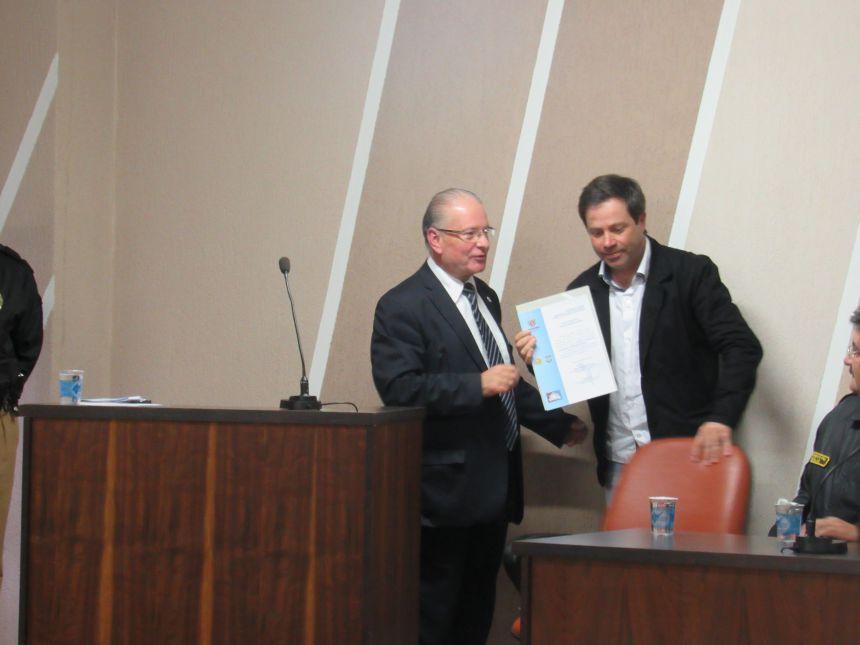 Fernandes Pinheiro empossa novo Conselho Comunitário de Segurança