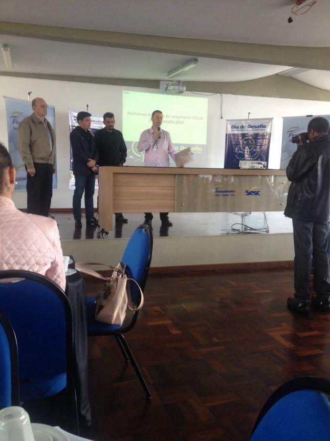 Fernandes Pinheiro se prepara para o Dia do Desafio