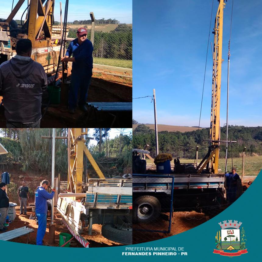 Nesta terça-feira (09/07) a Prefeitura de Fernandes Pinheiro em parceria com o Governo do Estado do Paraná, realizou diversas benfeitorias.