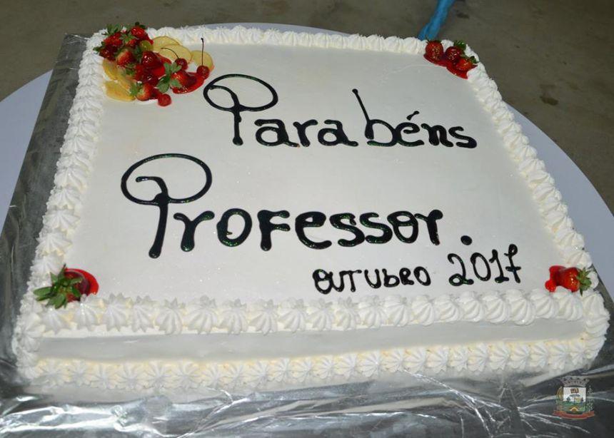 Comemoração do Dia do Professor!
