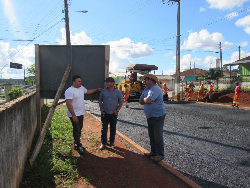 Pavimentação Asfáltica da Rua Vedolino Neves