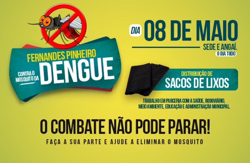23/04/2018 - Fernandes Pinheiro contra o mosquito da dengue