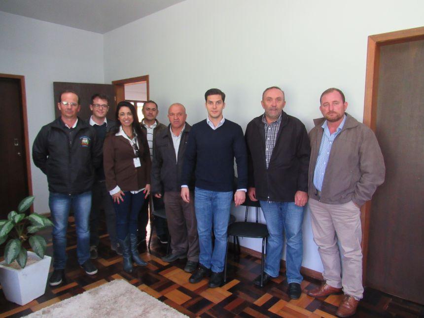 Marcelo Richa visita Fernandes Pinheiro