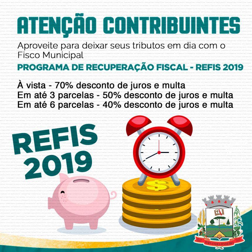 Programa de Recuperação Financeira tem início em Fernandes Pinheiro