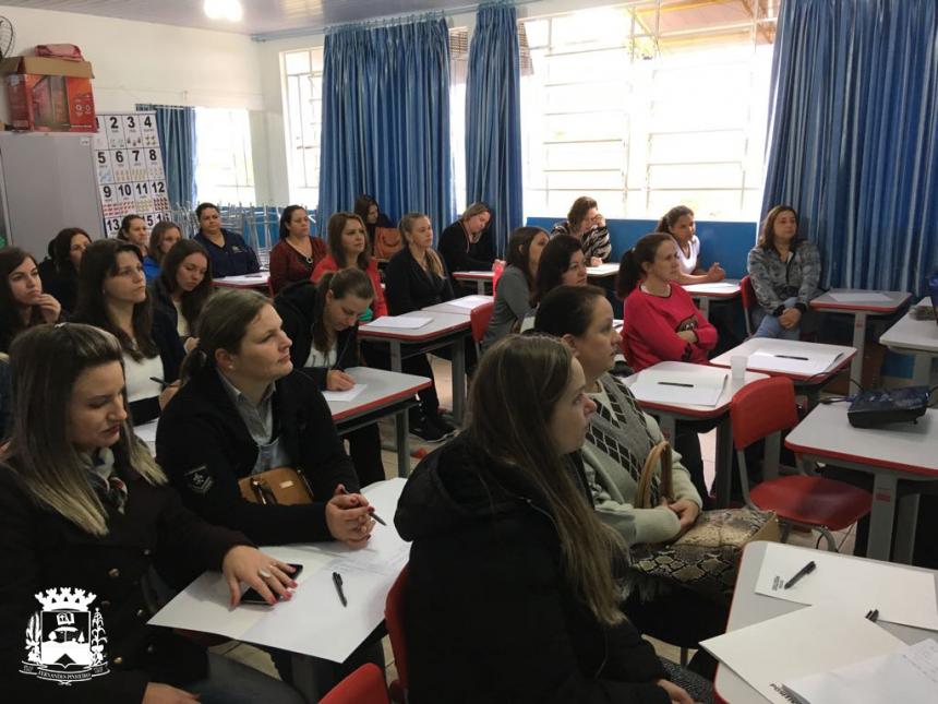 Semana Pedagógica da equipe docente das escolas Municipais e do CMEI
