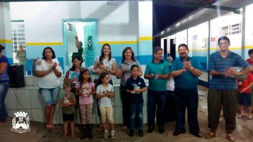 02 de Março: Grande participação popular na reunião da Escola Floresval Ferreira