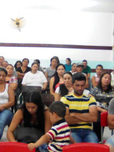 07 de Março: Reunião na Escola do Bituva dos Machados.
