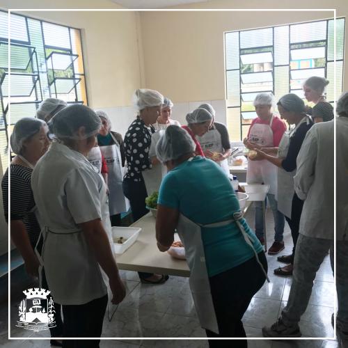 16/04/2018 - Curso de Panificação ocorreu em Bituva dos Machados