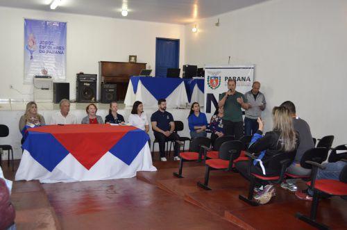 Jogos Escolares do Paraná.