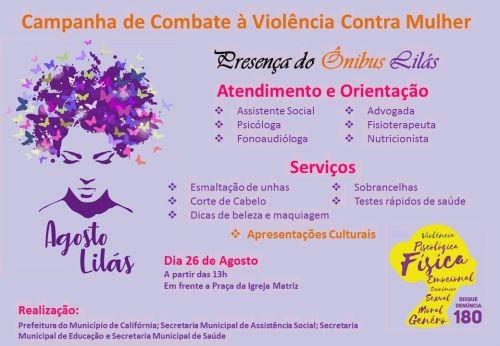 Campanha de Combate à Violência Contra a Mulher