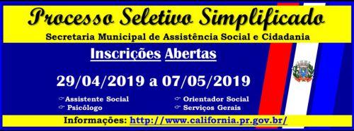 PSS - Assistencia Social