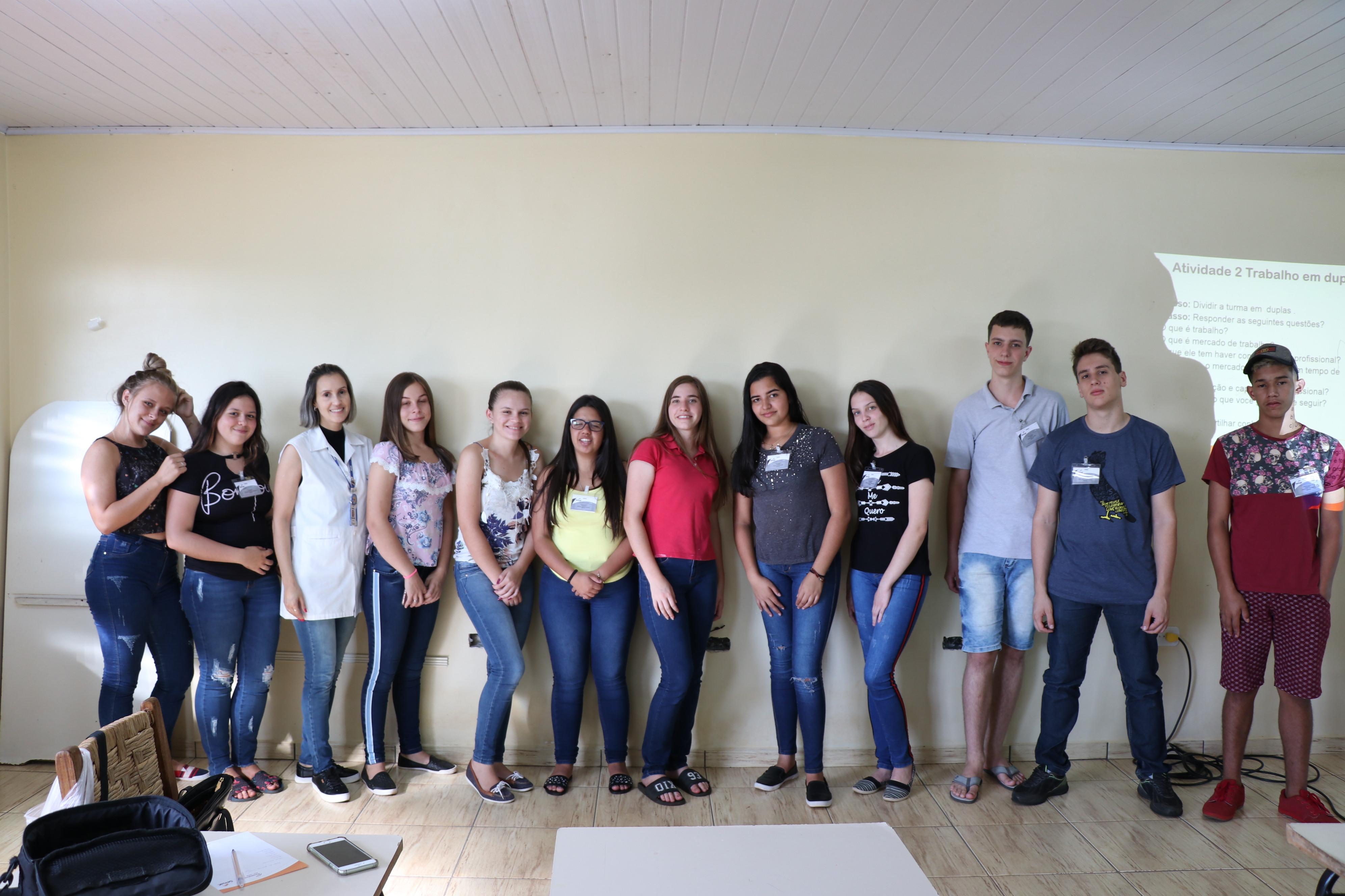 Senac e secretaria de Assistência Social dão início ao curso de Recepcionista