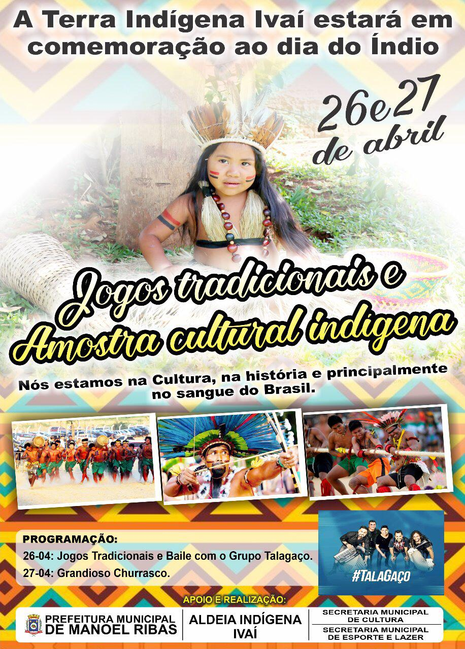 Aldeia Indígena Ivaí divulga programação em comemoração ao Dia do Índio