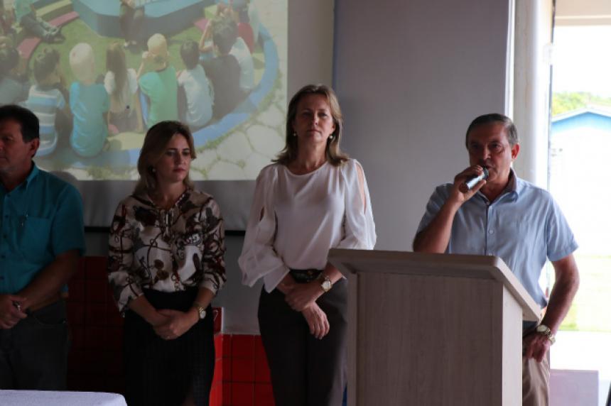 Governo Municipal de Manoel Ribas inaugura CMEI Professor Antônio dos Santos